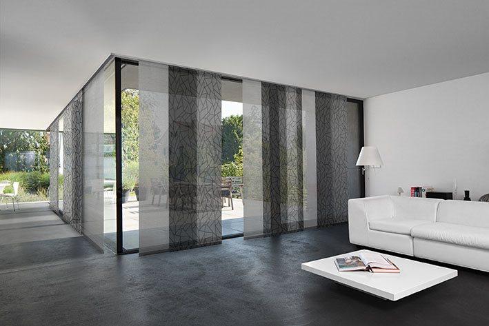 Haag Raum Ausstattung Flächenvorhang